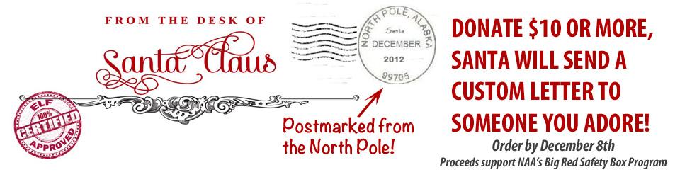 Letter from Santa Banner