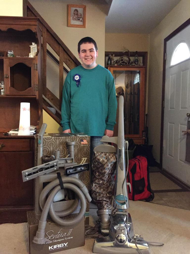 Vacuum Salesman Surprises Birthday Boy With Autism