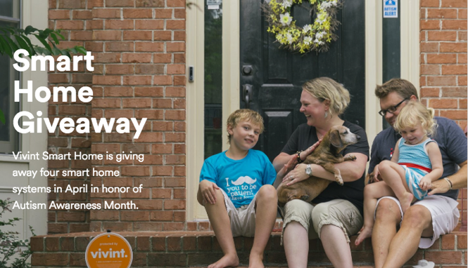 Vivint Smart Home Giveaway